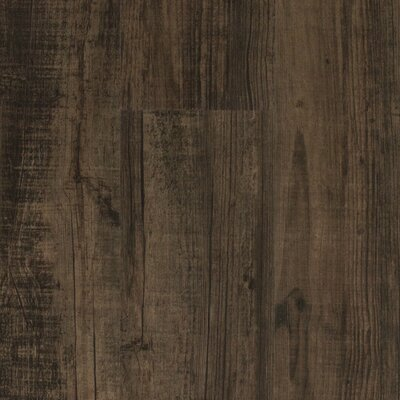 Verarise 6 x 48 x 2 mm Luxury Vinyl Plank in Black and Tan