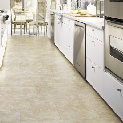 Sheyn 16 x 16 x 3.18 mm Luxury Vinyl Tile in Bisque