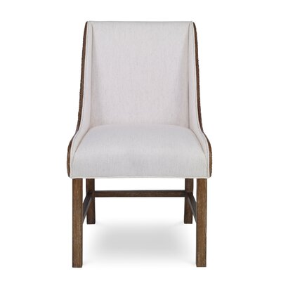 Voranado Woven Upholstered Dining Chair
