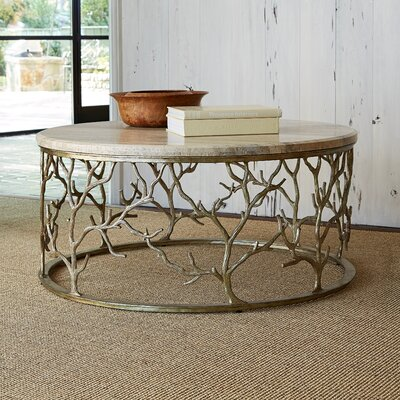 Branch Coffee Table Size: 19 H x 48 W x 48 D