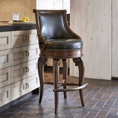 Tatum Swivel Bar Stool Size: 47 H x 22 W x 24.5 D