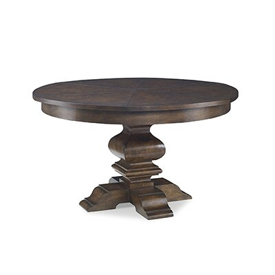 Edenborough Extendable Dining Table Color: Walnut