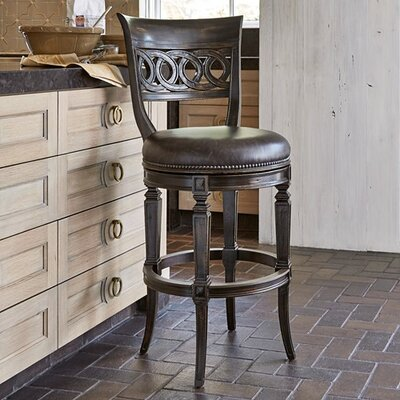 Rochelle Swivel Bar Stool Size: 42 H x 20 W x 23.5 D