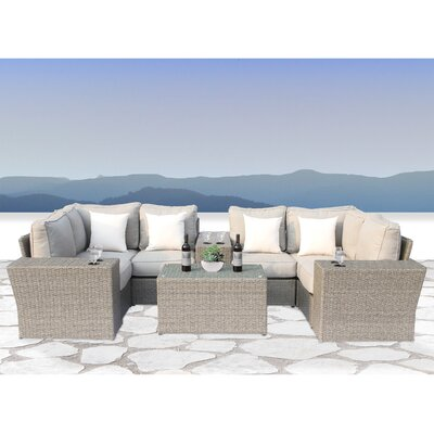 Winsford 10 Piece Conversation Set with Cushions