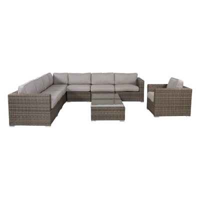 Vardin 10 Piece Sectional Group with Cushions