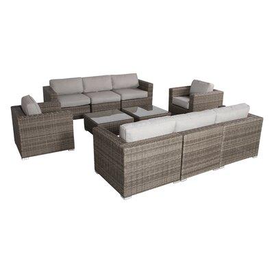 Vardin 10 Piece Sofa Set with Ultrasoft Cushions