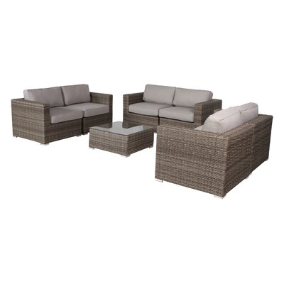 Vardin 7 Piece Sofa Set with Ultrasoft Cushions