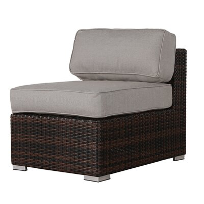 Archie 7 Piece Brown Wicker/Rattan Deep Seating Group with Cushion