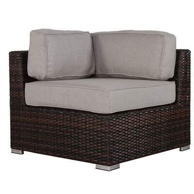 Archie 11 Piece Brown Deep Seating Group with Cushion