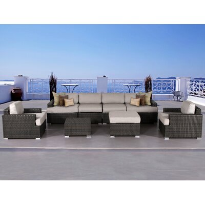 Archway 8 Piece Deep Seating Group with Cushion