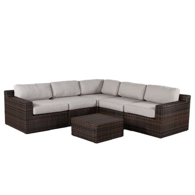 Sabin 6 Piece Deep Seating Group with Cushion