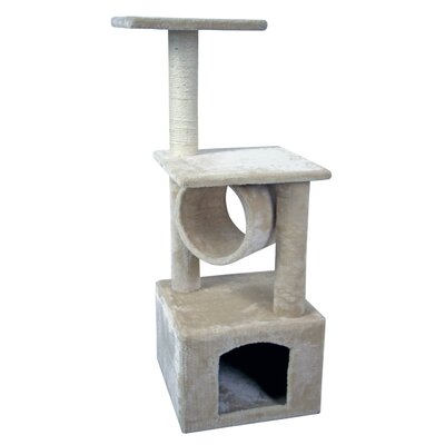 36 Kitty Scratcher Play House Furniture Toy Bed Post House Cat Tree and Condo