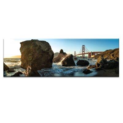 'The Golden Gate Bridge' Photographic Print on Canvas Size: 12