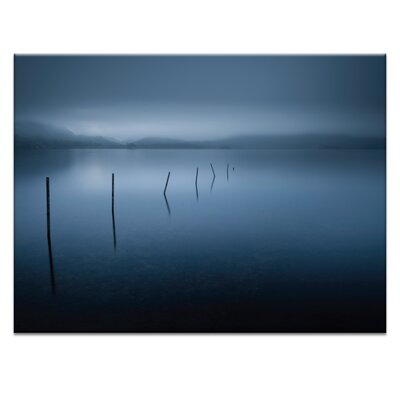 'Calm' Photographic Print on Wrapped Canvas Size: 16