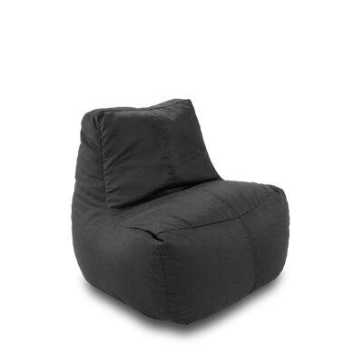 Bean Bag Lounger Upholstery: Black