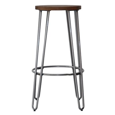Quinn� 28.94 Bar Stool Finish: Natural Metal