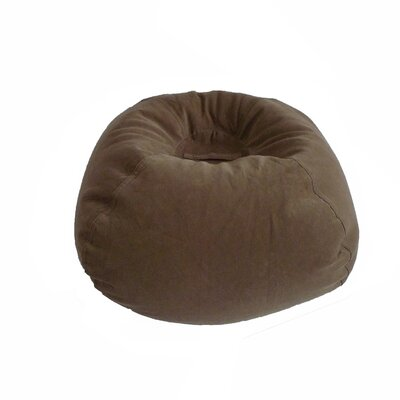 Corduroy Bean Bag Chair Upholstery: Dark Taupe