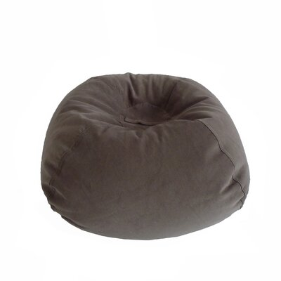Corduroy Bean Bag Chair Upholstery: Vintage Slate