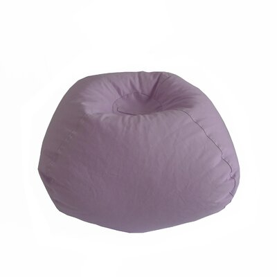 Stitched Bean Bag Chair Upholstery: Violet