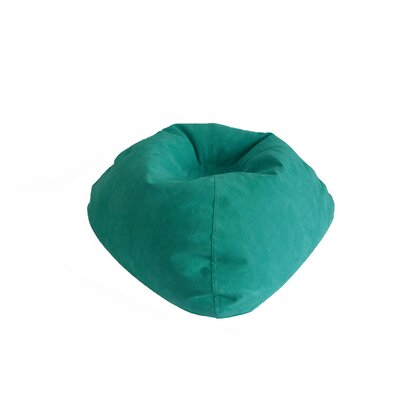 Bean Bag Chair Upholstery: Turquoise