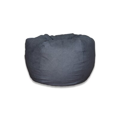 Bean Bag Chair Upholstery: Brushed Denim Fog