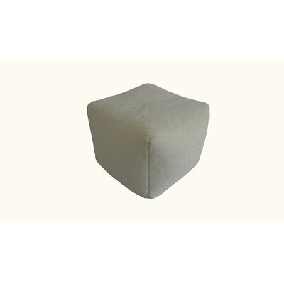 Pouf Upholstery: Beige
