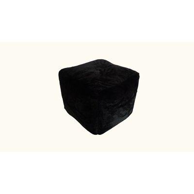 Pouf Upholstery: Ebony