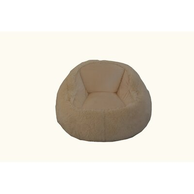 Bean Bag Chair Upholstery: Cream