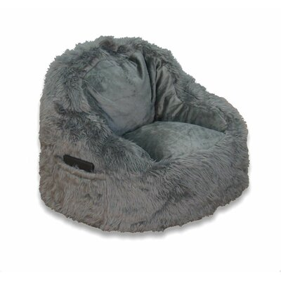 Bean Bag Chair Upholstery: Gray