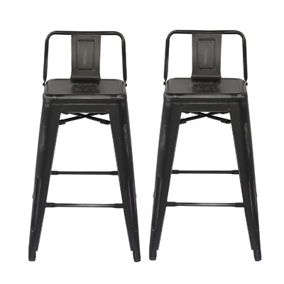 31 Bar Stool Finish: Black
