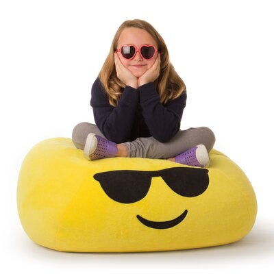 GoMoji Emoji Cool Bean Bag Chair