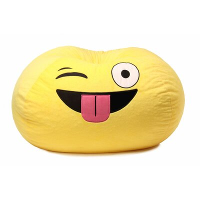 GoMoji Emoji Silly Bean Bag Chair