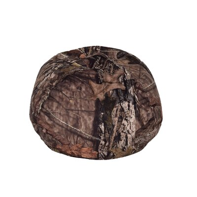Mossy Bean Bag Chair Upholstery: Oak Brown, Size: Medium