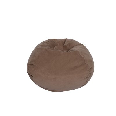 Bean Bag Chair Upholstery: Dark Taupe
