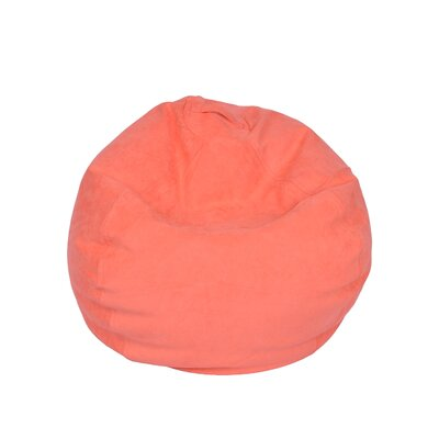 Bean Bag Chair Upholstery: Coral