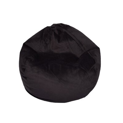 Bean Bag Chair Upholstery: Ebony
