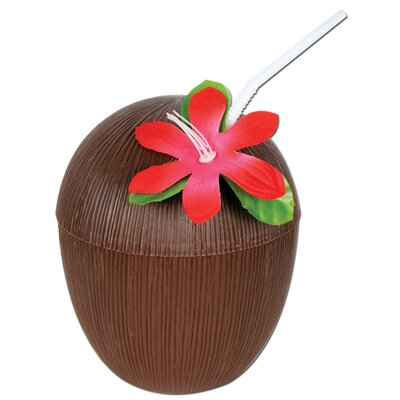 Plastic Coconut Cup (Set of 6) 50836