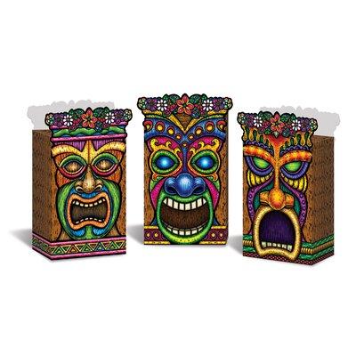 Tiki Favour Boxes (Set of 4) 54470