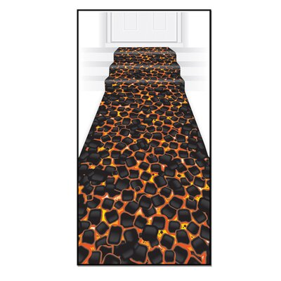 Hot Coals Runner Indoor/Outdoor Area Rug