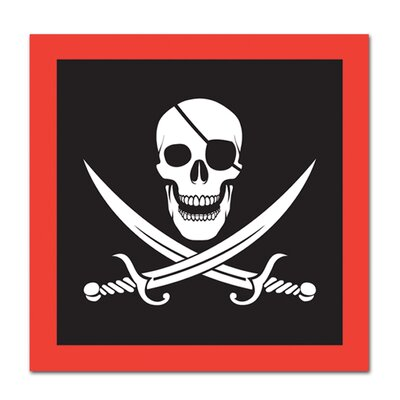 Pirate Luncheon Napkin 58104