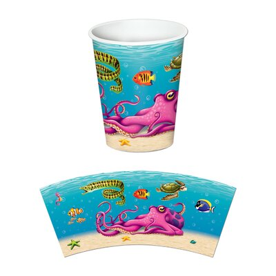 Under the Sea Beverage 9 oz. Cup (Set of 3) 58208