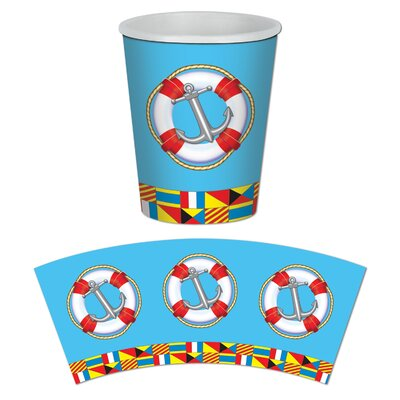 Nautical Beverage 9 oz. Cup 58211