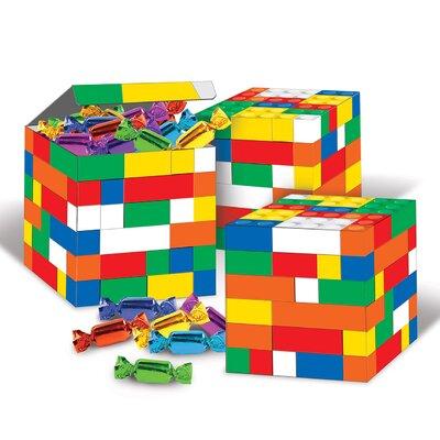 Building Blocks 3 Piece Decorative Box Set (Set of 4) 50269