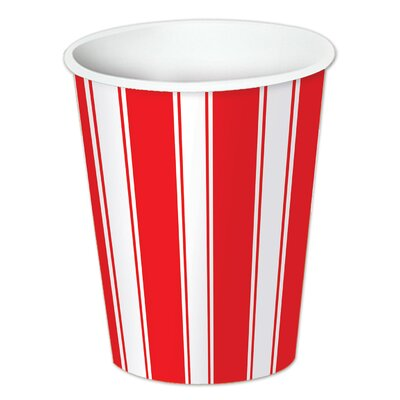 Circus Stripe 9 oz. Beverage Cup 58221