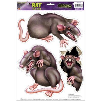 Halloween Rats Peel 'N Place (Set of 6) 01903
