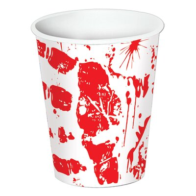 Bloody Handprints Beverage Cup (Set of 12) 08203