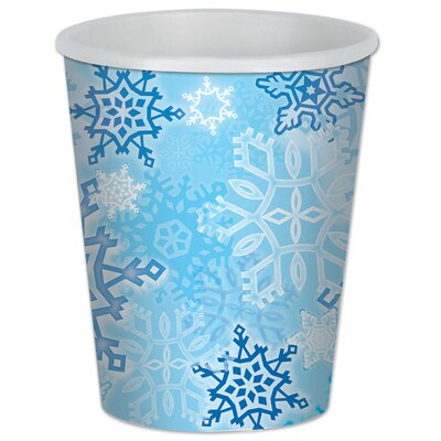 Snowflake Beverage Cup (Set of 3) 20939