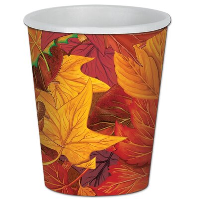 Fall/Thanksgiving Leaf Beverage Cup 90811