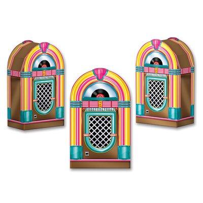 Jukebox Favor Decorative Box (Set of 4) THDA8185 43620631