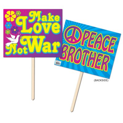 60's Yard Sign Garden Sign (Set of 3) 54916